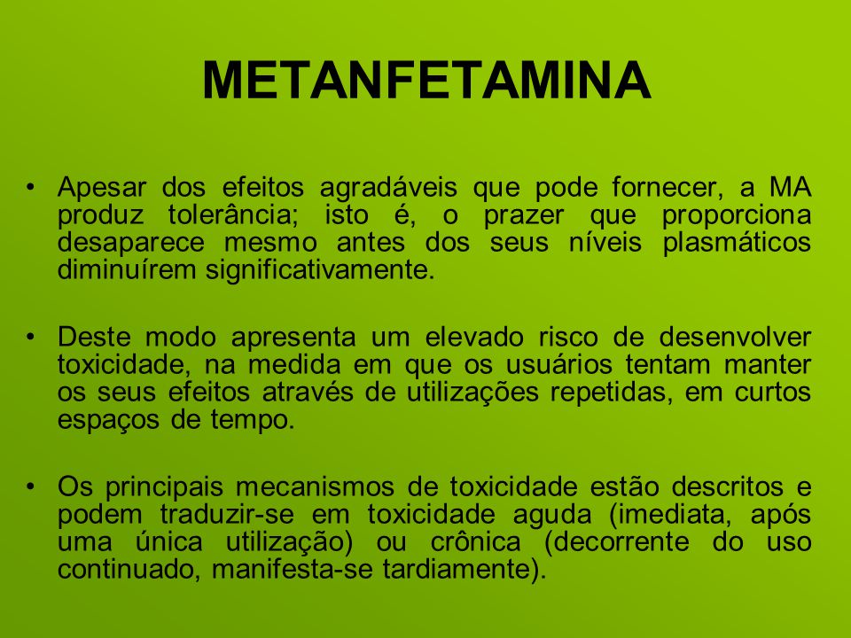 METANFETAMINA