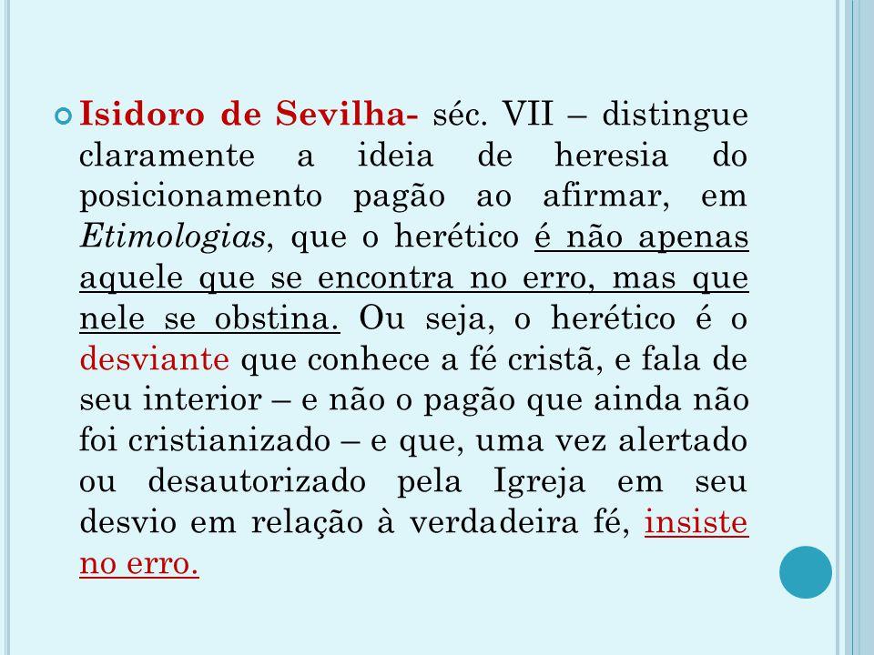Isidoro de Sevilha- séc