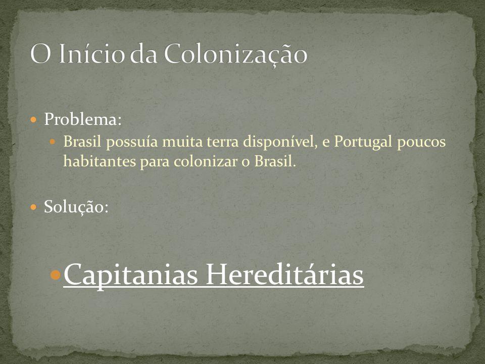O Início da Colonização