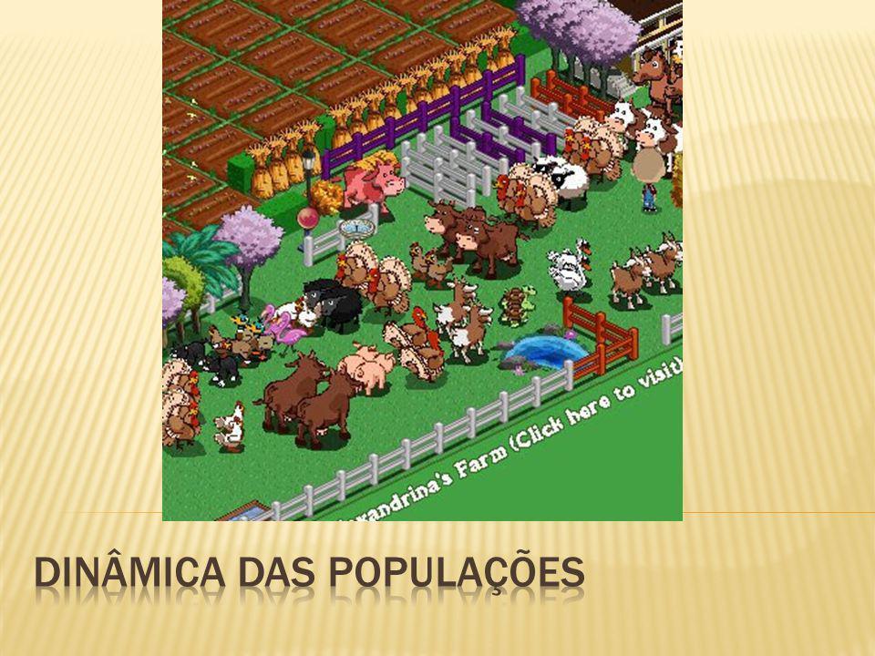 Dinâmica das populações
