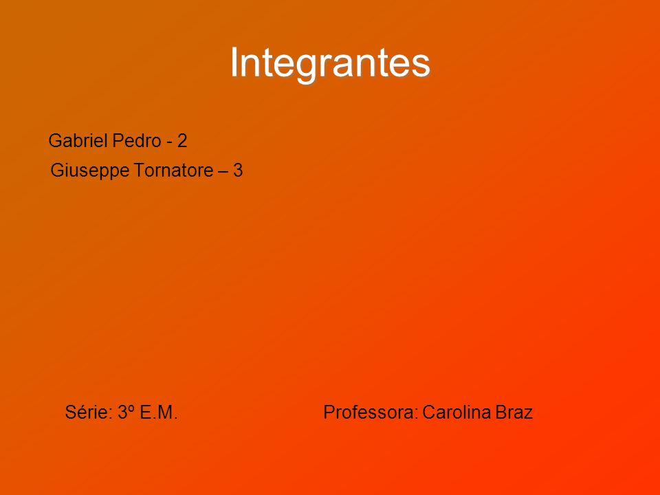 Integrantes Gabriel Pedro - 2
