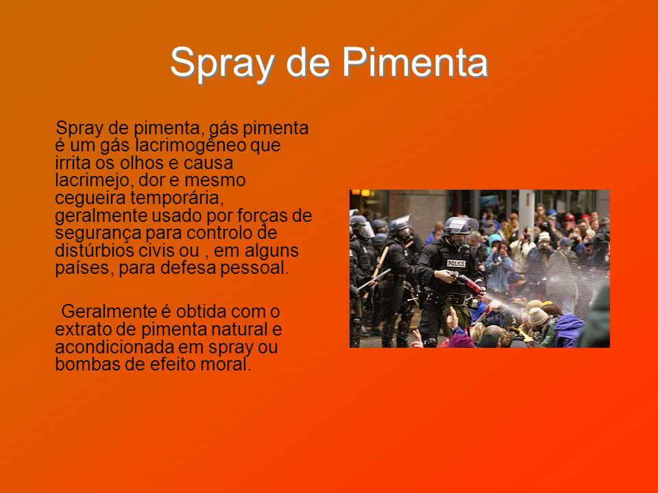 Spray de Pimenta