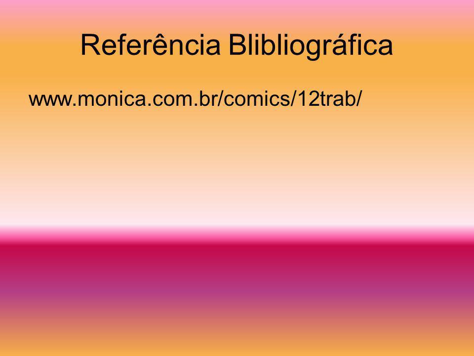 Referência Blibliográfica