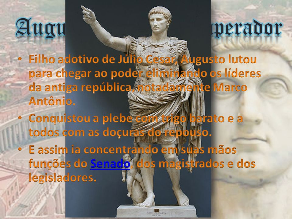 Augusto, primeiro imperador