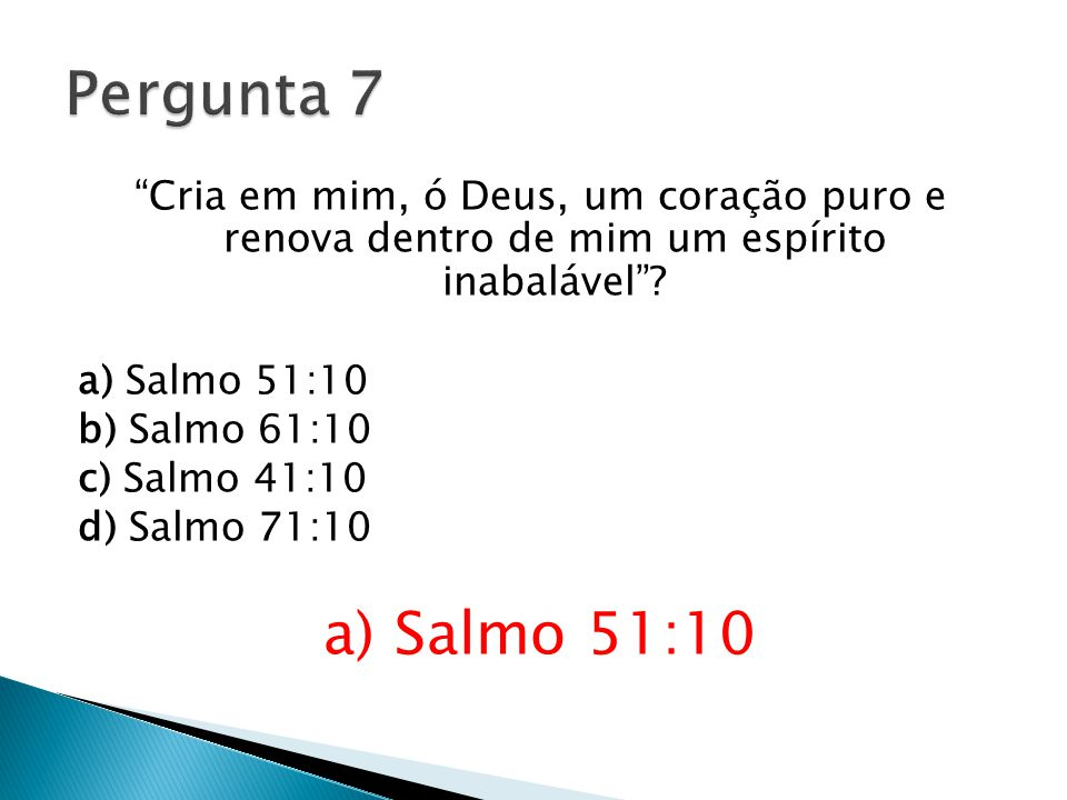 Pergunta 7