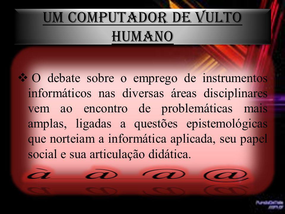 UM COMPUTADOR DE VULTO HUMANO