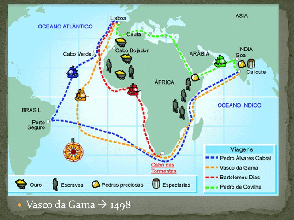 Vasco da Gama  1498