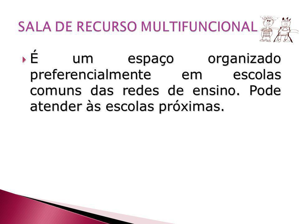 SALA DE RECURSO MULTIFUNCIONAL