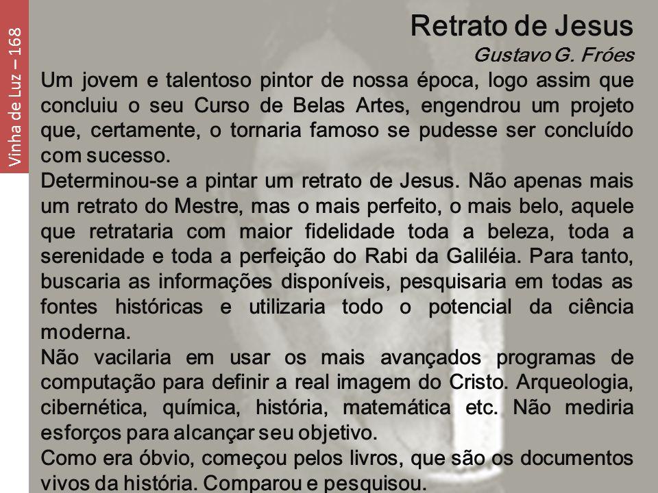 Retrato de Jesus Gustavo G. Fróes.