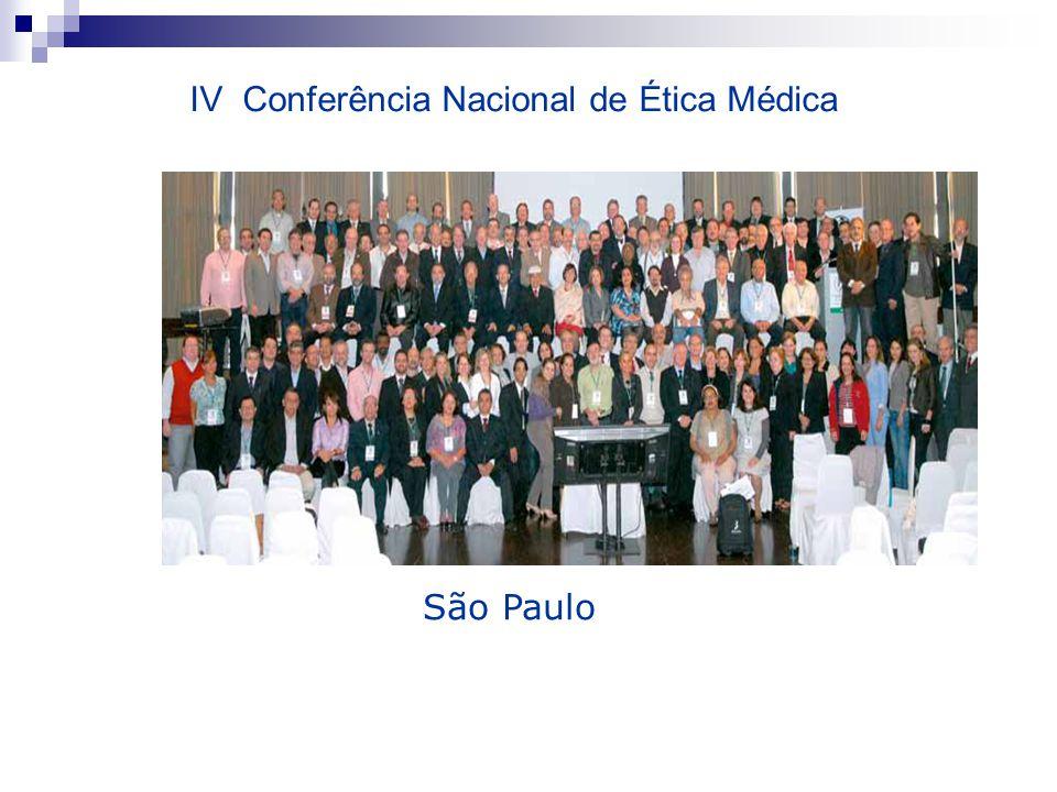 IV Conferência Nacional de Ética Médica