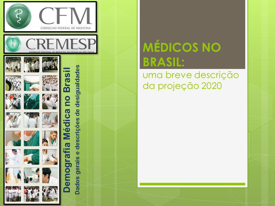 MÉDICOS NO BRASIL: uma breve descrição da projeção 2020