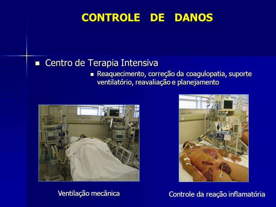 CONTROLE DE DANOS Centro de Terapia Intensiva