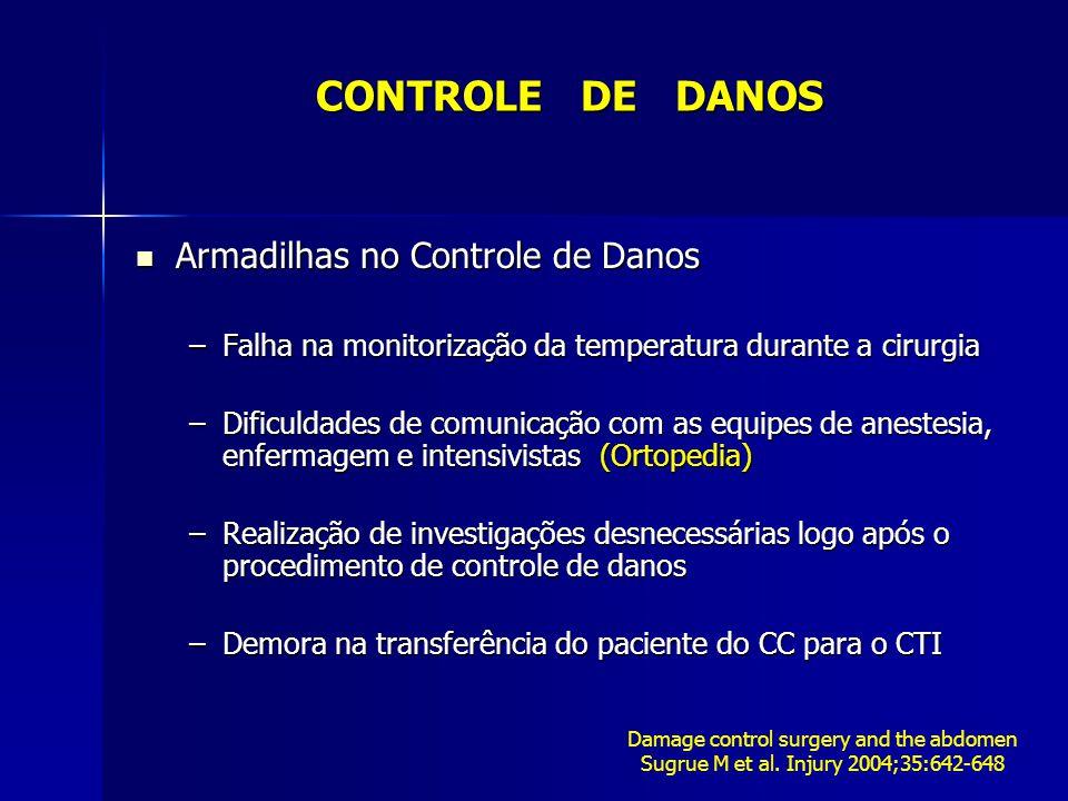 CONTROLE DE DANOS Armadilhas no Controle de Danos