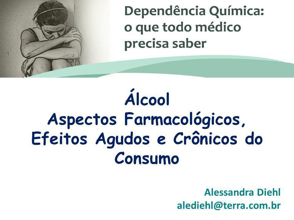 Álcool Aspectos Farmacológicos, Efeitos Agudos e Crônicos do Consumo