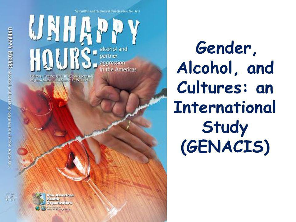 Gender, Alcohol, and Cultures: an International Study (GENACIS)