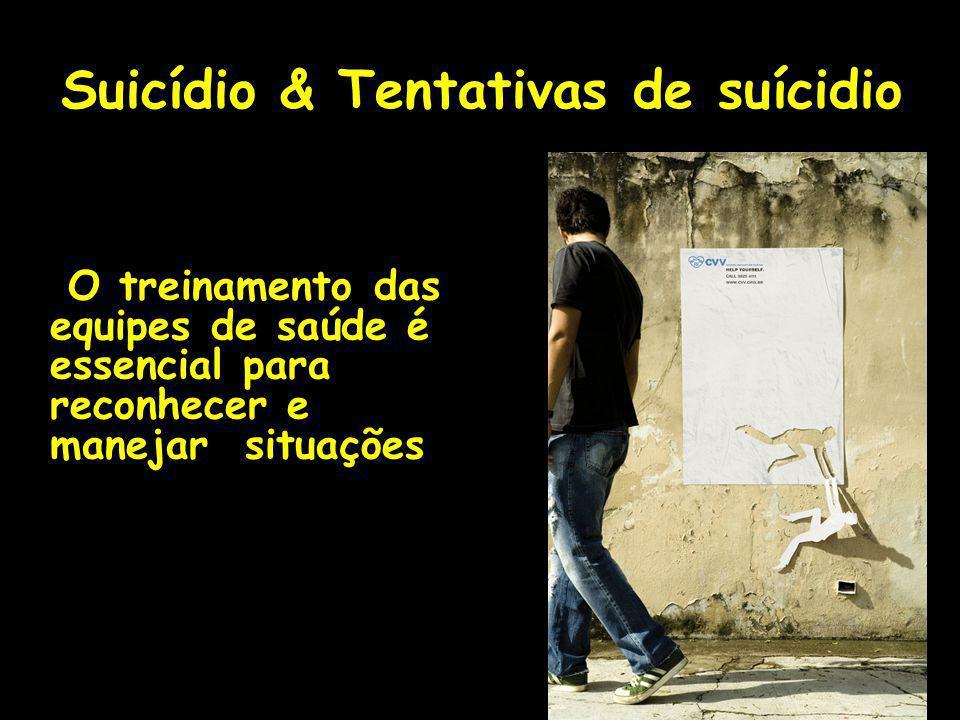 Suicídio & Tentativas de suícidio