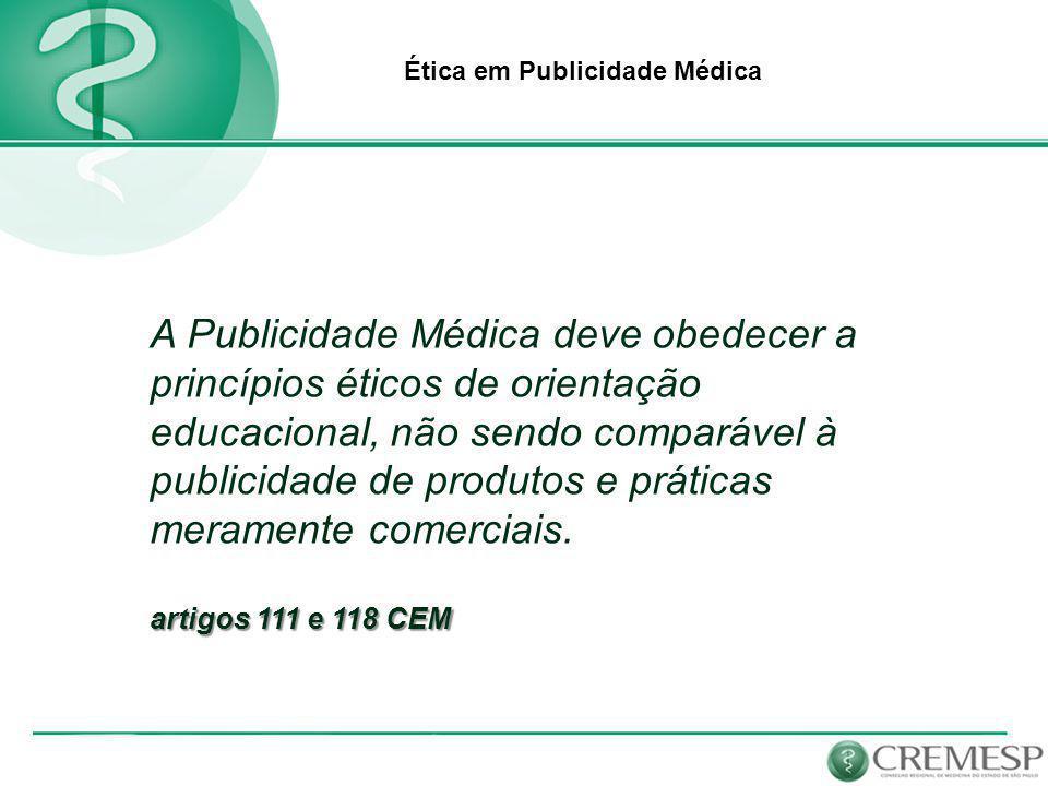 Ética em Publicidade Médica