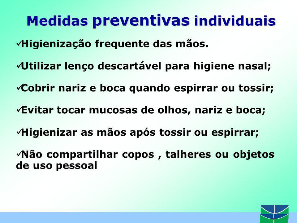Medidas preventivas individuais