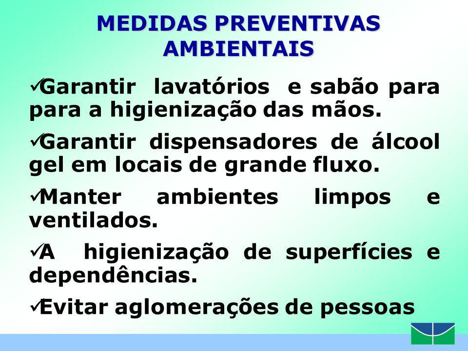 MEDIDAS PREVENTIVAS AMBIENTAIS