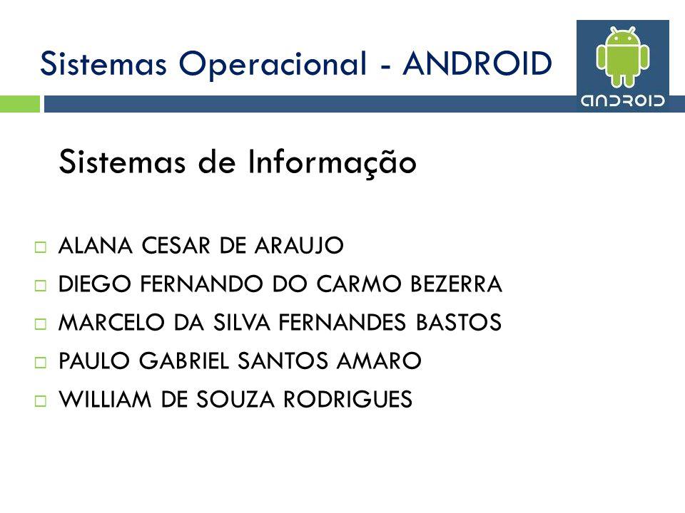 Sistemas Operacional - ANDROID