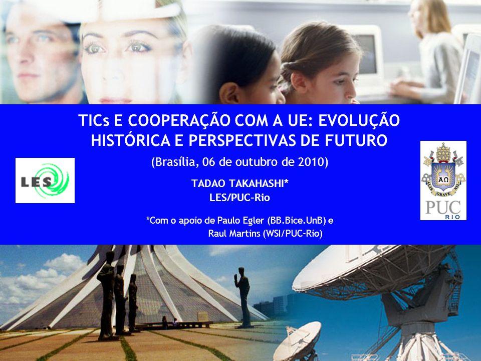 (Brasília, 06 de outubro de 2010) TADAO TAKAHASHI* LES/PUC-Rio