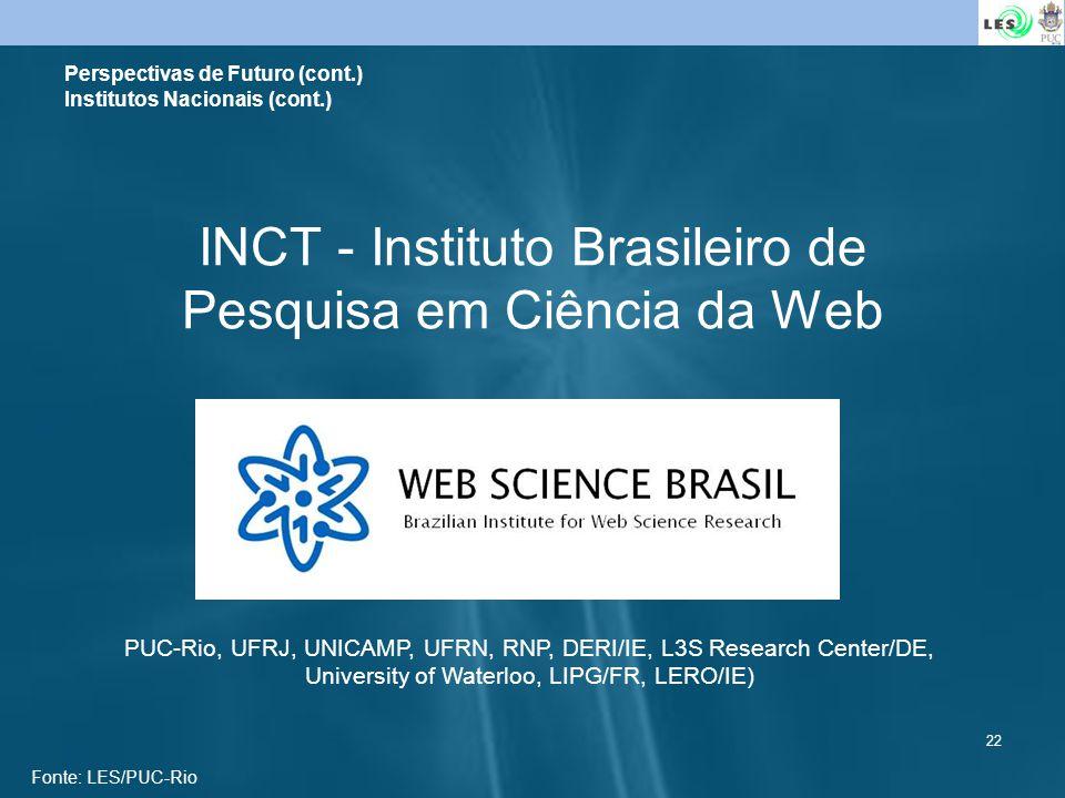 INCT - Instituto Brasileiro de Pesquisa em Ciência da Web