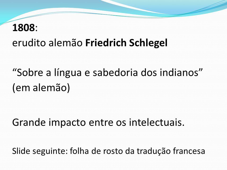 erudito alemão Friedrich Schlegel