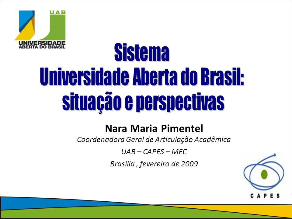 Universidade Aberta do Brasil: situação e perspectivas