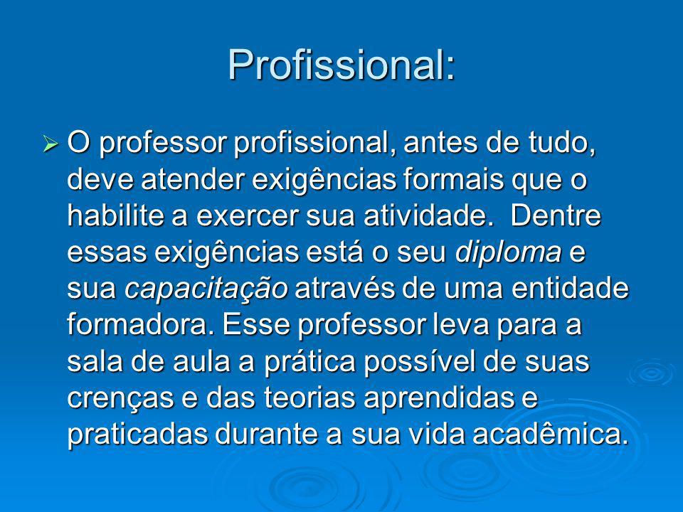 Profissional: