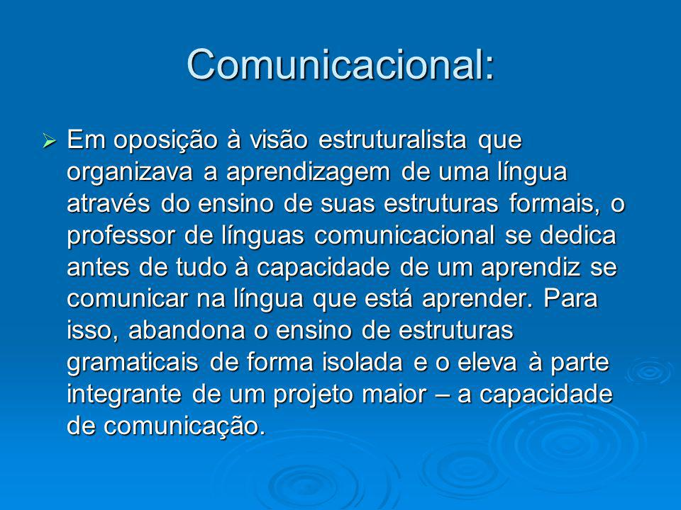 Comunicacional: