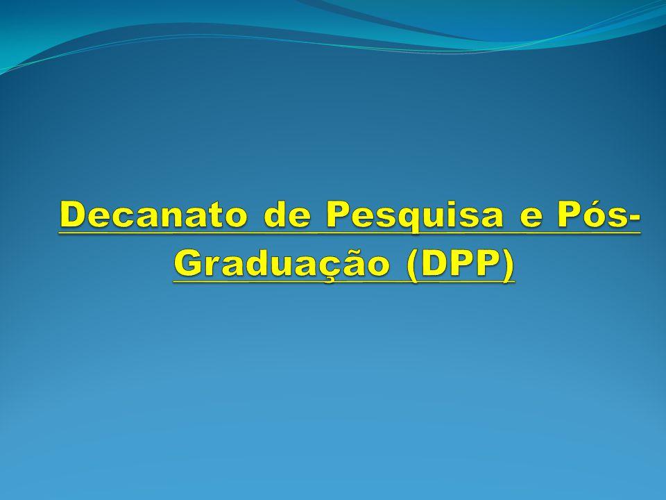 Decanato de Pesquisa e Pós-Graduação (DPP)