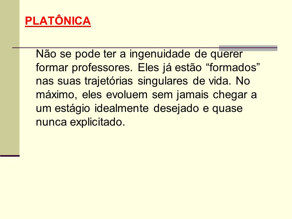 PLATÔNICA