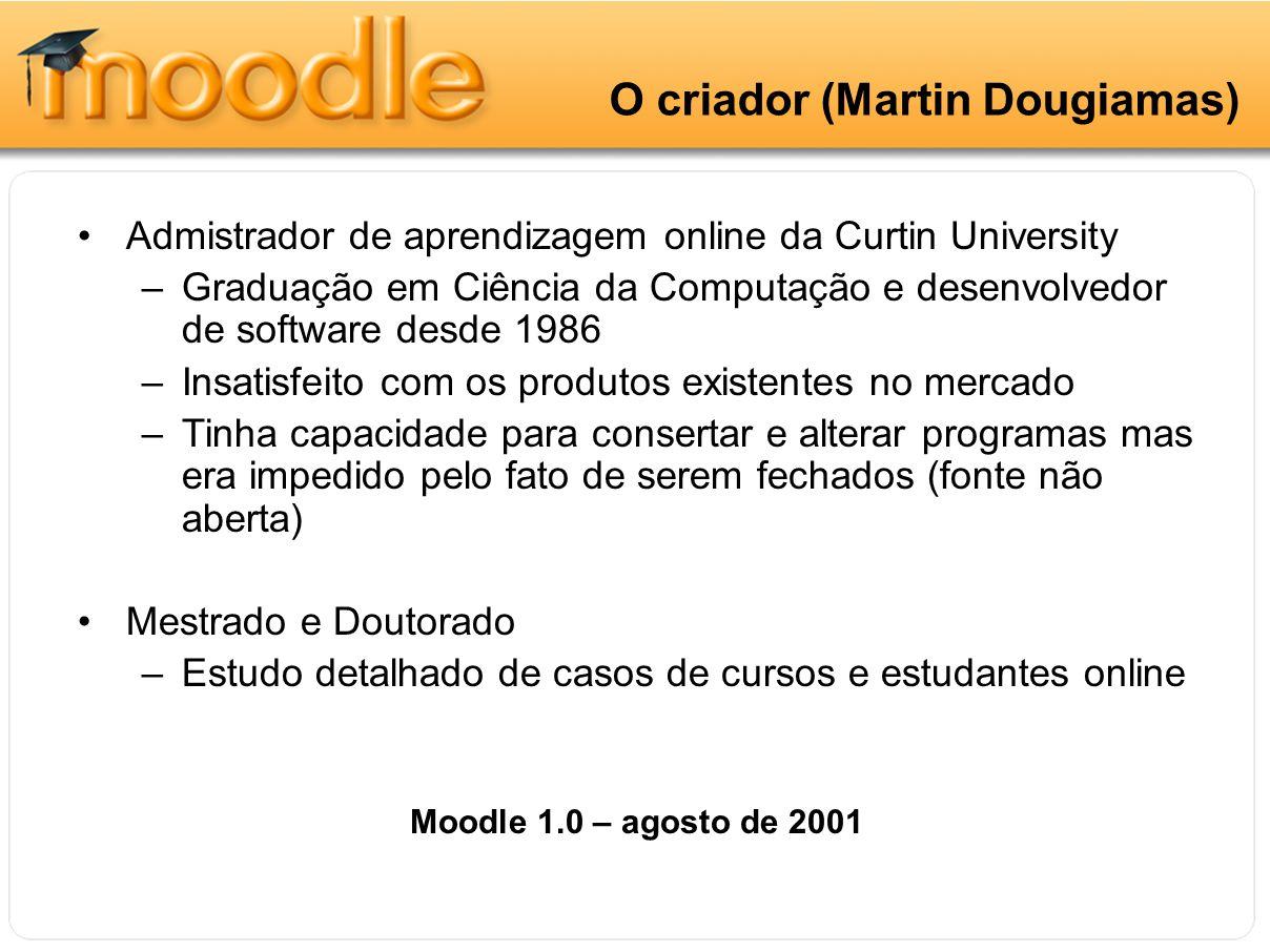 O criador O criador (Martin Dougiamas)