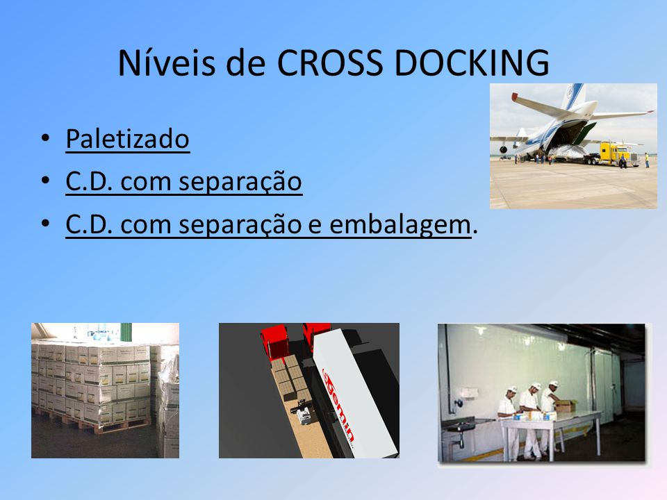 Níveis de CROSS DOCKING