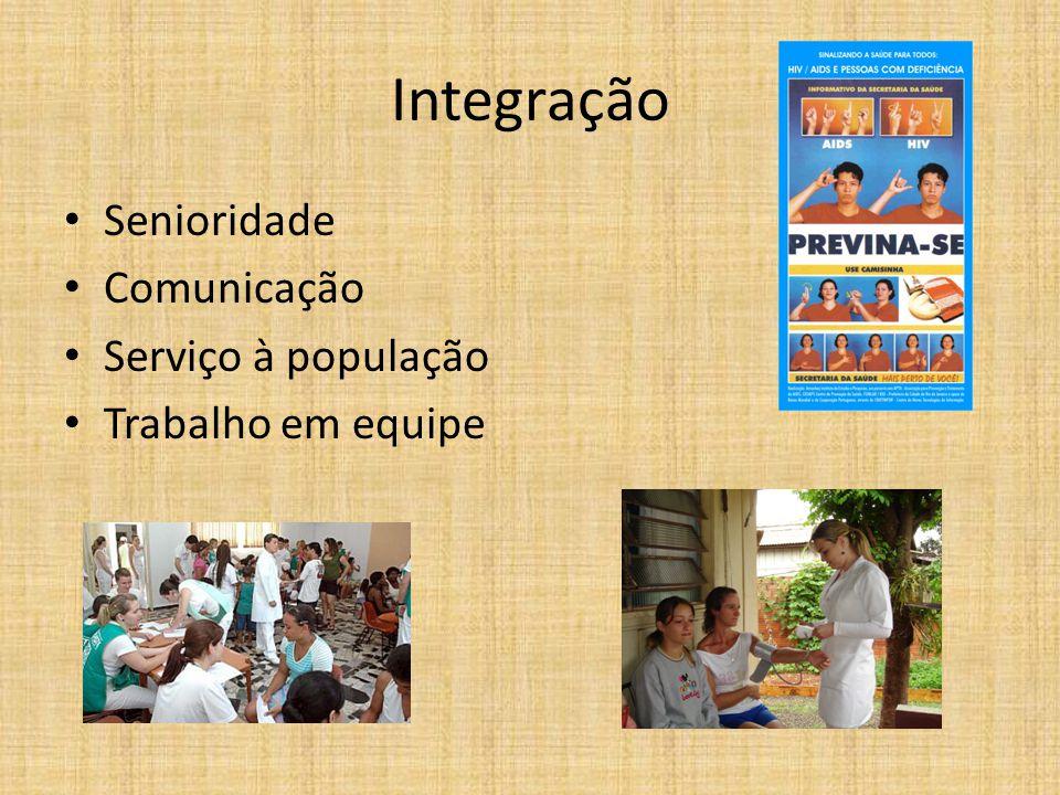 Integração Senioridade Comunicação Serviço à população
