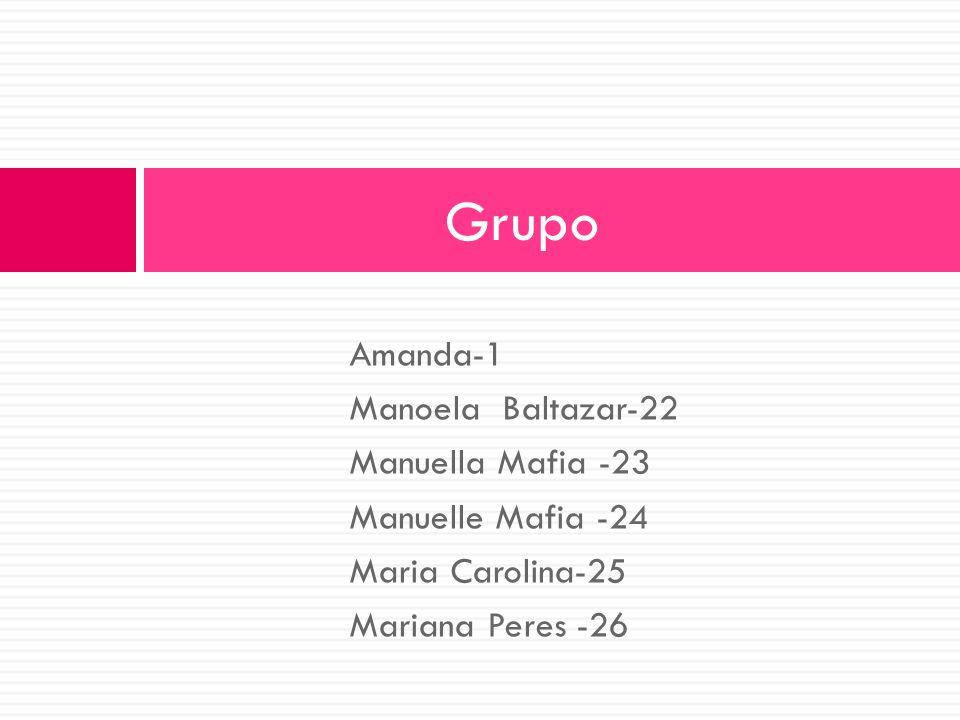 Grupo Amanda-1 Manoela Baltazar-22 Manuella Mafia -23