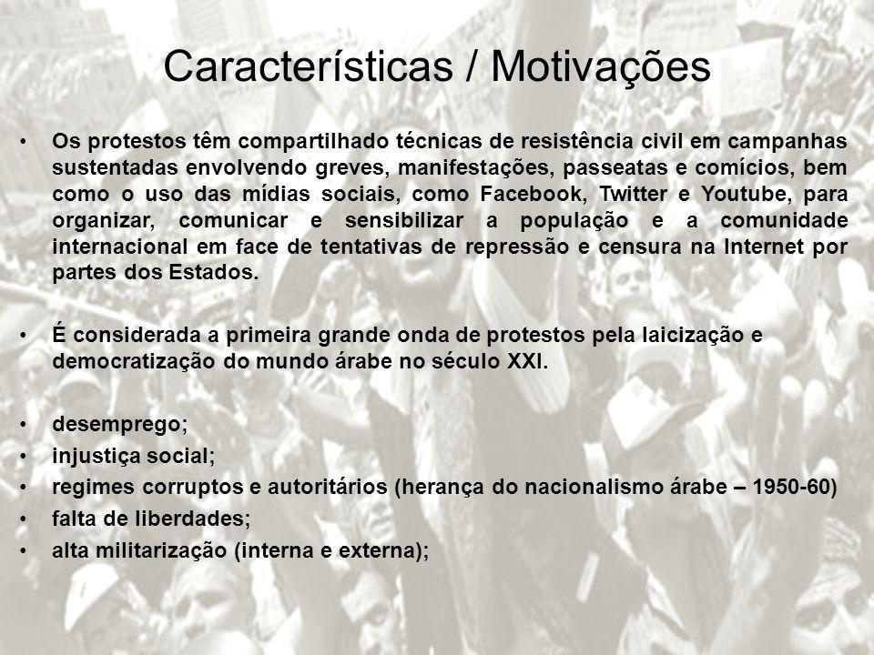 Características / Motivações