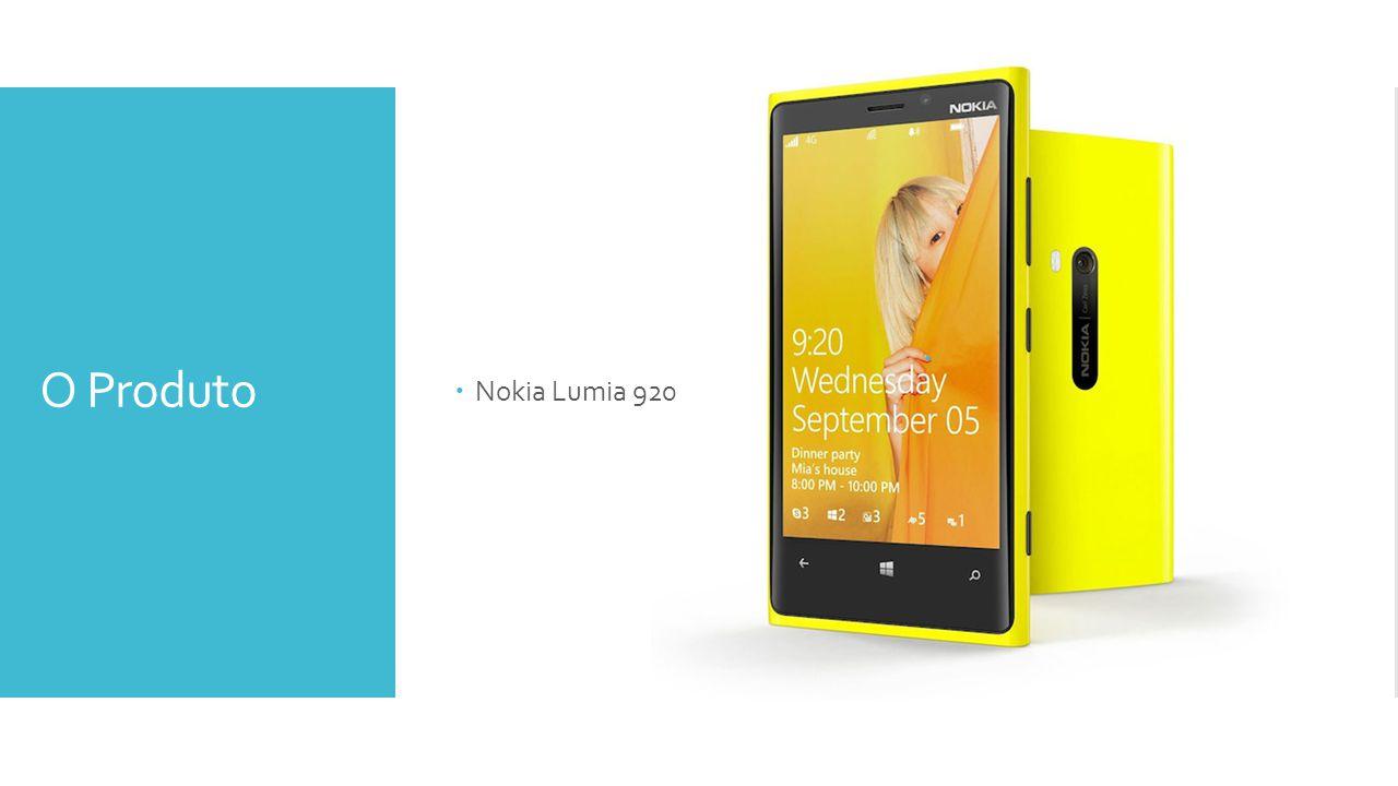Nokia Lumia 920 O Produto
