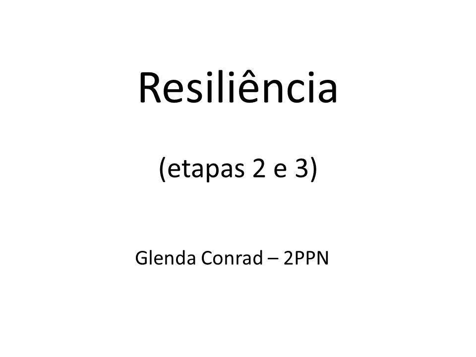 Resiliência (etapas 2 e 3)