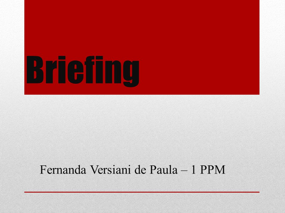 Fernanda Versiani de Paula – 1 PPM