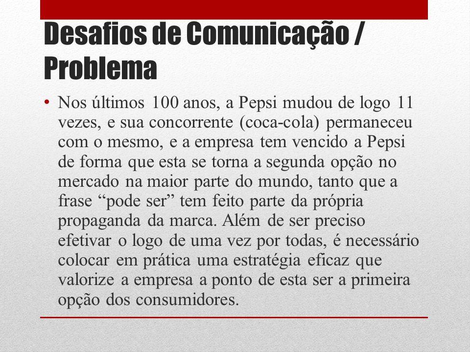 Desafios de Comunicação / Problema
