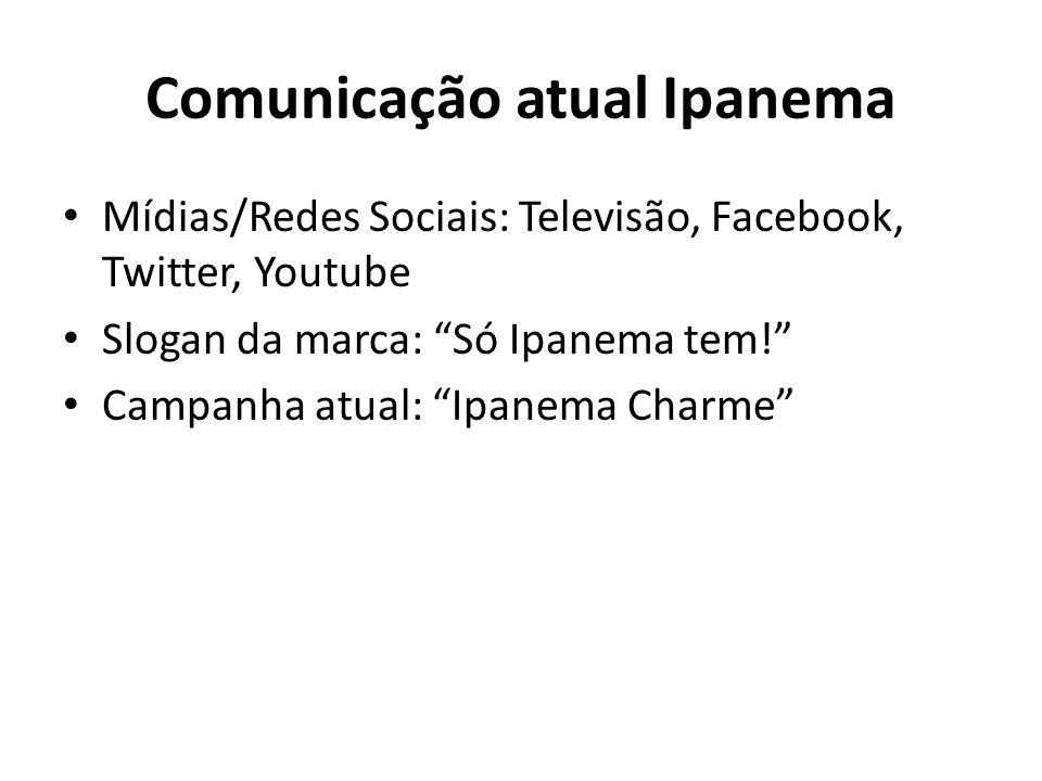 Comunicação atual Ipanema