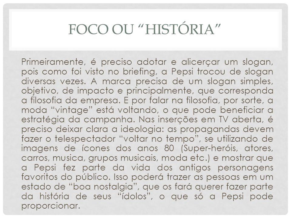 Foco ou história