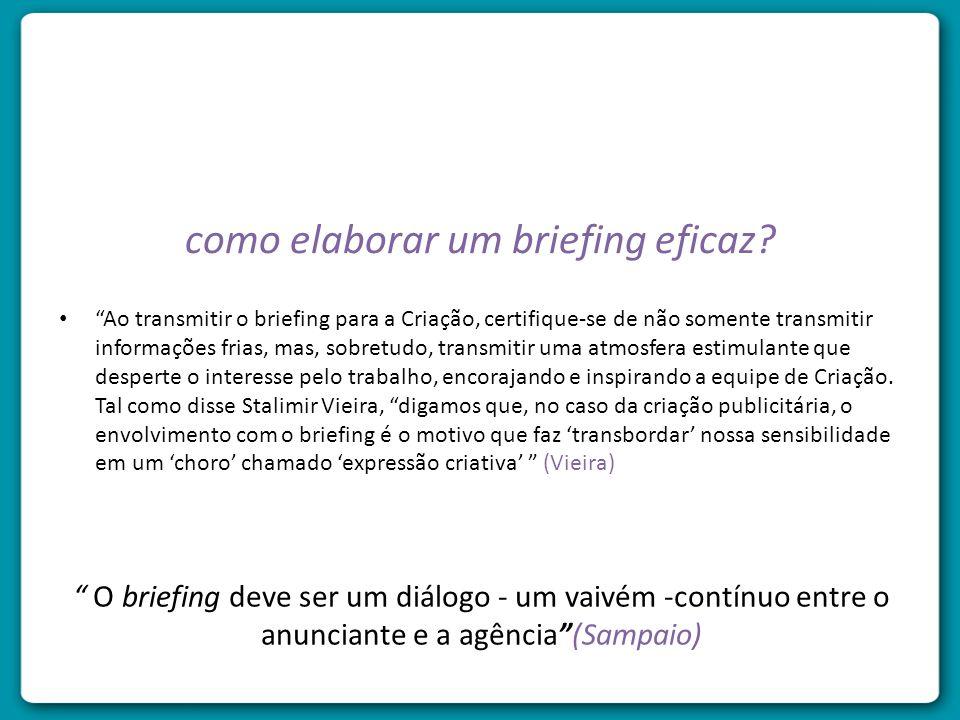 como elaborar um briefing eficaz