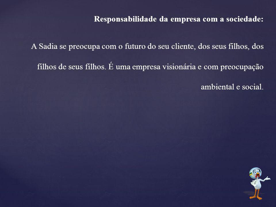 Responsabilidade da empresa com a sociedade: