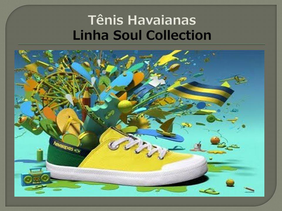 Tênis Havaianas Linha Soul Collection