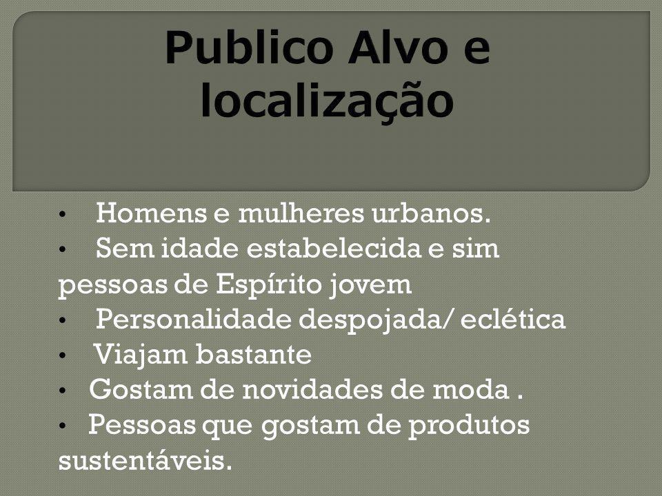 Publico Alvo e localização