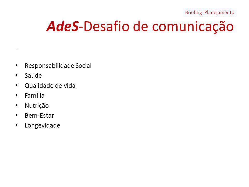 AdeS-Desafio de comunicação