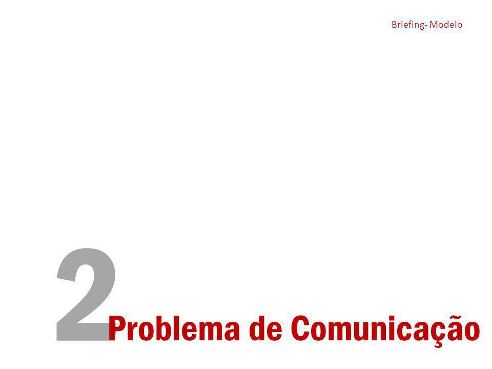 Briefing- Modelo 2 Briefing- Modelo Problema de Comunicação