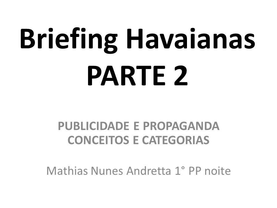 Briefing Havaianas PARTE 2